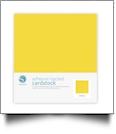 "Silhouette Adhesive-Backed Cardstock 12"" x 12"" - 25 Sheet Pack - YELLOW"