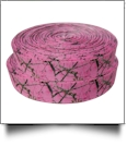 "Pink Camo Grosgrain Ribbon - 7/8"" x 1 Yard"