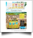 Garden Party Embroidery Designs by Sarah Vedeler Designs on CD-ROM for Every Stitch Counts