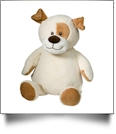 Embroidery Buddy Stuffed Animal -  Pauley Puppy 16""