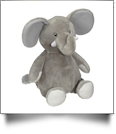 "Embroidery Buddy Stuffed Animal - Elford Elephant 16"" - GRAY"