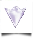 Pocket Square Handkerchief Embroidery Blanks - LAVENDER - CLOSEOUT