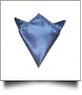 Pocket Square Handkerchief Embroidery Blanks - NAVY - CLOSEOUT