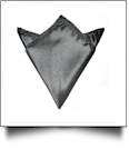 Pocket Square Handkerchief Embroidery Blanks - BLACK - CLOSEOUT