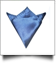 Pocket Square Handkerchief Embroidery Blanks - ROYAL BLUE - CLOSEOUT