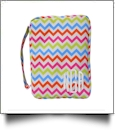 Bible Cover with Zipper Closure - MULTI-COLOR CHEVRON