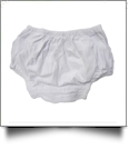 Super Soft Cotton Knit Diaper Cover - WHITE