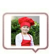 Child's Chef Hat & Apron Sets