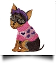 Furry Fashionistas Embroidery Designs by Amazing Designs on a Multi-Format CD-ROM ADL-24