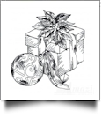 Christmas Vignettes Embroidery Designs by Amazing Designs on a Multi-Format CD-ROM ADL-29