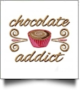 For the Love of Chocolate Embroidery Designs by Amazing Designs on a Multi-Format CD-ROM ADC-264
