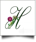 Floral Monograms Embroidery Designs by Amazing Designs on a Multi-Format CD-ROM ADC-261
