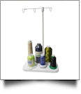 Lightweight 6 Spool Portable Travel Embroidery Thread Stand