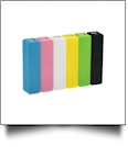 Colorful Mobile Power Bank For USB Gadgets