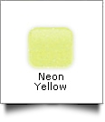 "Glitter Flake Heat Transfer Vinyl 20"" x 1 Yard Roll - NEON YELLOW"