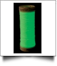 Green Nite Lite Glow In The Dark Embroidery Thread by Superior Threads - 80yd Spool