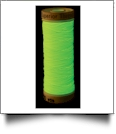 Yellow Nite Lite Glow In The Dark Embroidery Thread by Superior Threads - 80yd Spool