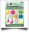 Chubby Alphabet Appliques Embroidery Designs by John Deer's Adorable Ideas - Multi-Format CD-ROM