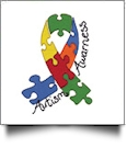 Autism Awareness Embroidery Designs by Dakota Collectibles on a CD-ROM 970595