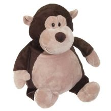 Embroidery Buddy Stuffed Animal - Monty Monkey 16""