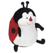 "Embroidery Buddy Stuffed Animal - Landy LadyBug 16"" - RED"