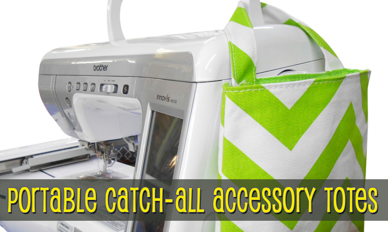 Portable Catch-All Accessory Totes