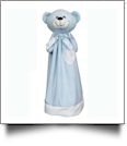 "20"" Blankey Buddy Bear Blanket - BLUE"