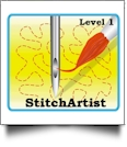 StitchArtist Level 1 by Embrilliance Embroidery Software DOWNLOADABLE