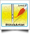 StitchArtist Level 2 by Embrilliance Embroidery Software DOWNLOADABLE