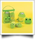 Bath Time Set with Fiddler the Frog - CLOSEOUT