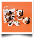 Bath Time Set with Carlie the Cow Bath - CLOSEOUT