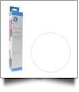 "Silhouette Flocked Heat Transfer Material 12""x36"" Roll - WHITE"