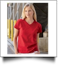 Fruit of the Loom - Ladies' Heavy Cotton HD� V-Neck T-Shirt Embroidery Blanks