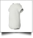 Rabbit Skins - Infant Lap Shoulder Creeper - 6M WHITE - IRREGULAR