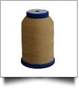 504 Gold/Gold Snazzy Lok Premium Serger Thread 1000 Meter Spool