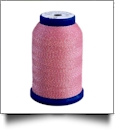 506 Pink/Gold Snazzy Lok Premium Serger Thread 1000 Meter Spool