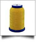 509 Yellow/Gold Snazzy Lok Premium Serger Thread 1000 Meter Spool