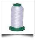 T010 White Fine Line 60wt Polyester Embroidery Thread 1500 Meter Spool