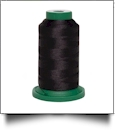 T020 Black Fine Line 60wt Polyester Embroidery Thread 1500 Meter Spool