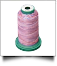 V106 Medley Polyester Embroidery Thread 1000 Meter Spool