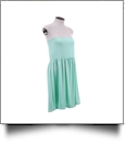 Classic Swimsuit Cover-Up Dress - MINT - CLOSEOUT