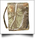 Bible Cover with Zipper Closure - WOODS CAMO