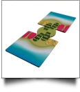 Unsewn 12oz Can Koozie Embroidery Blanks - FLIP FLOP BEACH