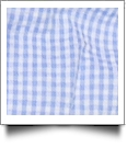 "Gingham Pre-Cut Fabric 9"" x 55"" Piece For Applique - BLUE"