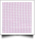 "Gingham Pre-Cut Fabric 9"" x 55"" Piece For Applique - LIGHT PINK"