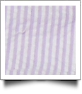 "Seersucker Pre-Cut Fabric 9"" x 55"" Piece For Applique - LAVENDER - CLOSEOUT"