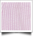 "Seersucker Pre-Cut Fabric 9"" x 55"" Piece For Applique - PINK - CLOSEOUT"
