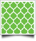 Quatrefoil - QuickStitch Embroidery Paper - One 8.5in x 11in Sheet