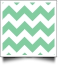 Chevron - QuickStitch Embroidery Paper - One 8.5in x 11in Sheet