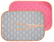 The Coral Palms� Swimsuit Saver Roll-up Neoprene Mat - CLOVER & DAMASK